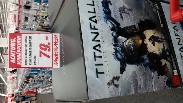 Titanfall Collectors Edition Mediamarkt Köln Kalk + ab Morgen MM am Dom