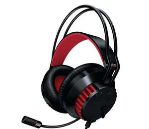 Philips SHG8200/10 Over-Ear Headset schwarz/rot @ Redcoon.de
