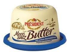 (Lokal? Karstadt Perfetto Dresden) Le President Butter (feine Butter, Meersalzbutter,...)