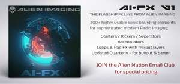 20 gratis Soundeffekte von Alien Imaging