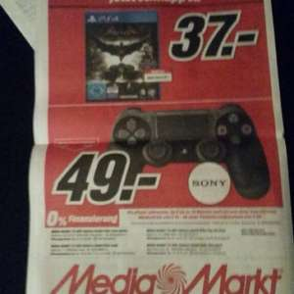 Media Markt Köln Gamescom Angebote! z.B mit Batman Arkham Knight für 37€