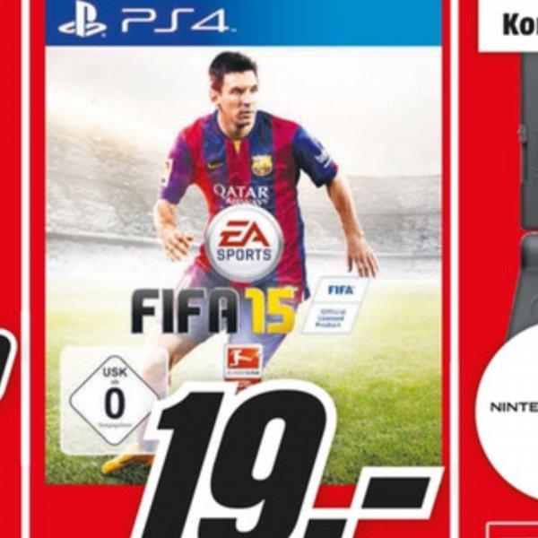 [münchen] FIFA 15 Ps4 19€ Mediamarkt