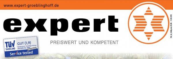 [Lokal Expert Groeblinghoff Gruppe] Toshiba 40L1533DG für 249€, Panasonic TX-55CXW684 für 1111€ & mehr