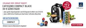 Cafissimo Compact BLACK + 62 Kapseln + Spender für 49€ (+1000 PaybackPunkte)