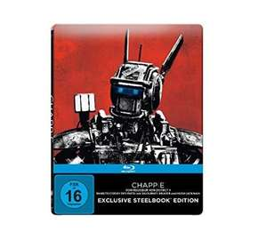 Chappie (Steelbook Edition) - (Blu-ray + Bonus Blu-ray + UV Copy) für 12,99€ @Saturn