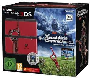 "New Nintendo 3DS ""Monster Hunter 4"" Bundle oder New Nintendo 3DS ""Xenoblade 3D"" Bundle"