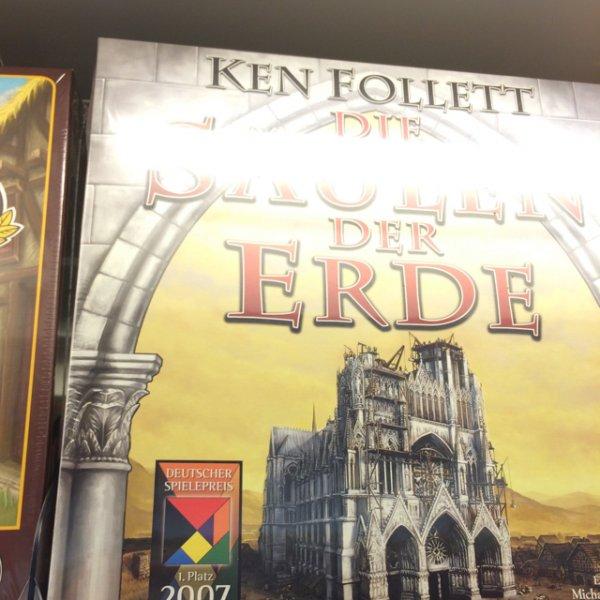 Die Säulen der Erde - Spiel, Kosmos bei Müller für 15€, Dt. Spielepreis