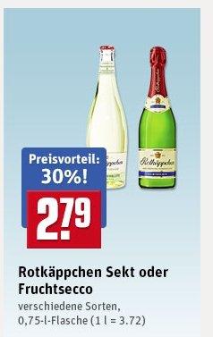 Barilla Penne 0,79€ und Rotkäppchen Sekt 2,79€ @ REWE SÜD