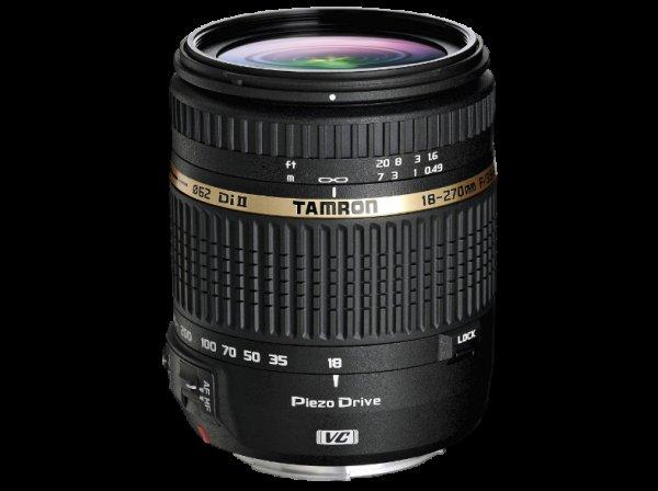 Tamron 18-270mm F3,5-6,3 Di II VC PZD für Canon, Nikon & Sony 289€