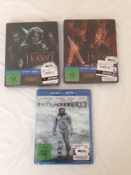 ABGELAUFEN (lokal) Köln saturn: gta 5 PS 4-29,99€ / PS4 Mordors Schatten 15 € / interstellar 7,99 / hobbit 1+2 steelb. Ext. 9,99