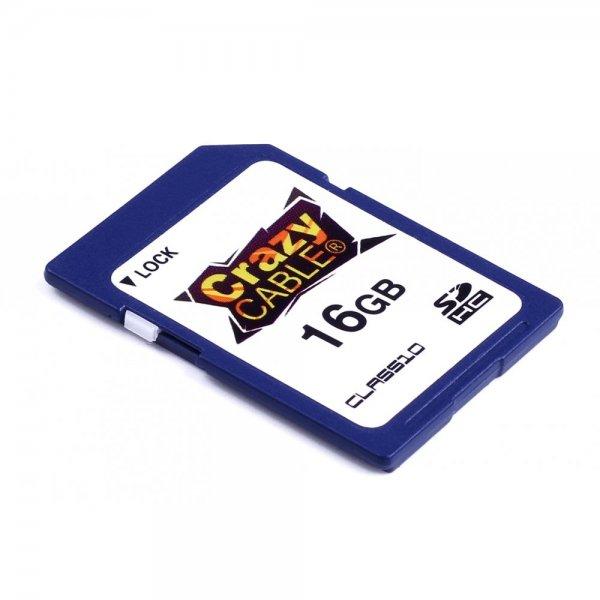 [CrazyCase.de] CrazyCable SDHC Class 10 Speicherkarte 16GB für 6,89€ / 32GB für 11,39€
