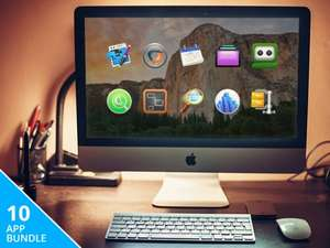 (MAC) Pay What You Want Mac Power User Bundle mit bis zu 10 Apps!