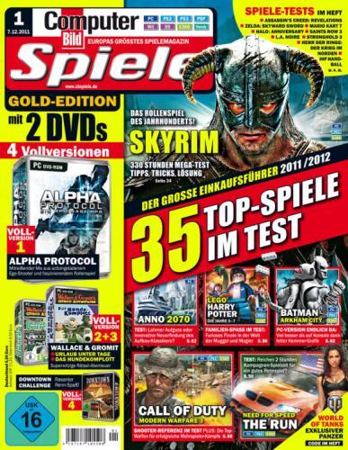 COMPUTER BILD SPIELE Gold Edition 4 Vollversionen für 5,50 Euro