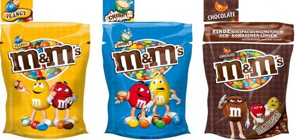 [Lidl] Super Samstag: M&M's, nur 1,69€ (250g/213g) je Beutel (nur am 15.08.15)