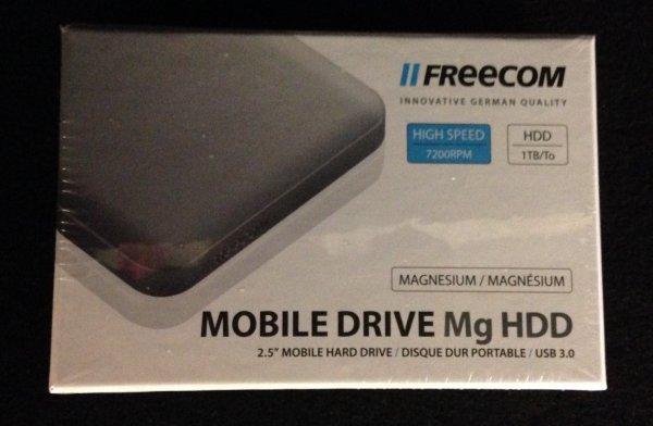 Freecom Mobile Drive Mg USB 3.0 1TB für 39,99€ bei GRAVIS - GS möglich!!