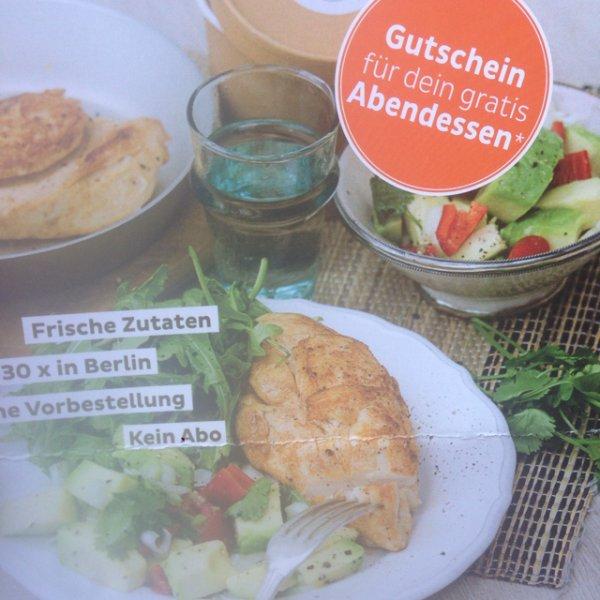 [Lokal Berlin] Gratis Abendessen Gutschein home eat home