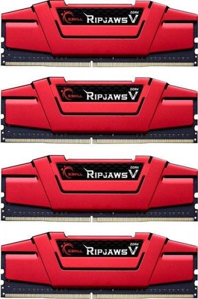 [diverse Anbieter] G.Skill RipJaws V rot DIMM Kit 32GB, DDR4-2666, CL15-15-15-35