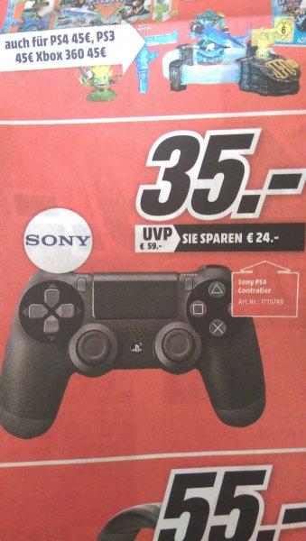 [Lokal Media Markt Stralsund] Sony PS4 Controller in Schwarz für 35€
