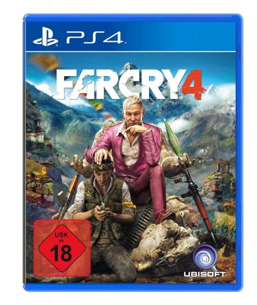 Otto.de - PS4 Far Cry 4 (oder 3 andere Spiele) + Leiste / Preis: inkl. Versand 14,43 € durch Gutschein