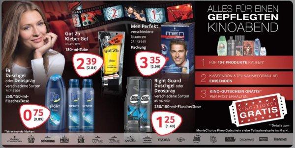 SELGROS Movie Choice Kinogutschein erhalten für 10 Euro Schwarzkopf & Henkel Produkte
