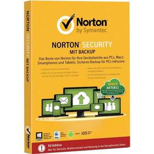 [Amazon] Norton Security mit Backup 10 Geräte Key Card (PC, Mac, Android, iOS)