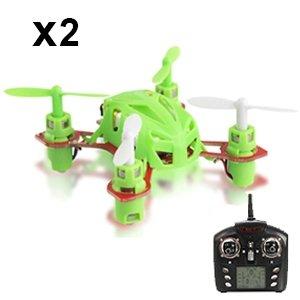2St. WLtoys V272 Nano-RC-Quadcopter RTF für 35,99€ aus Deutschland