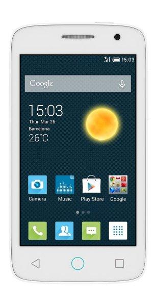 "Alcatel Pop 2 4.0"" 4045D - DUAL SIM - LTE - Quadcore Snapdragon 410 - 64bit - Android 5.0 - 1GB RAM"