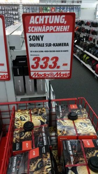 [Lokal MM S-Vaihingen] Sony SLT-A 58 K (18-55) + Tasche + 16 GB SD-Karte