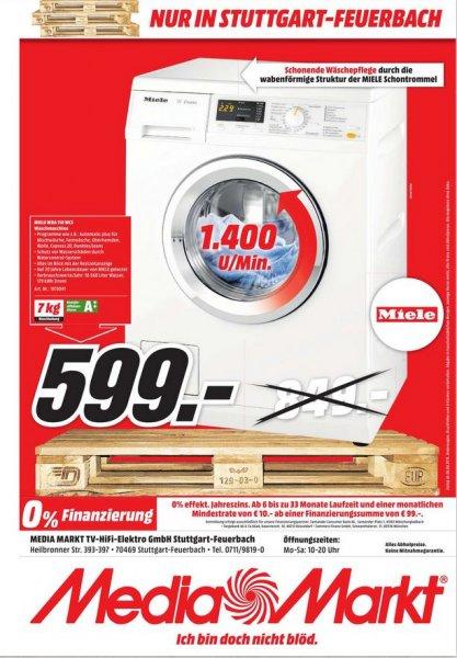 [Lokal MM Stuttgart-Feuerbach] Miele WDA110 WCS Waschmaschine 7kg EEZ:A++, PVG: 719€+VSK