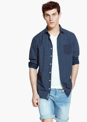 Slim Fit sommerliches Hemd von Mango für 19,99 € (ehemals 39,99 €)