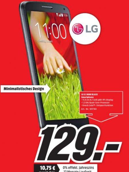 [Lokal MM Wolfsburg ]  LG G2 Mini Schwarz für 129€
