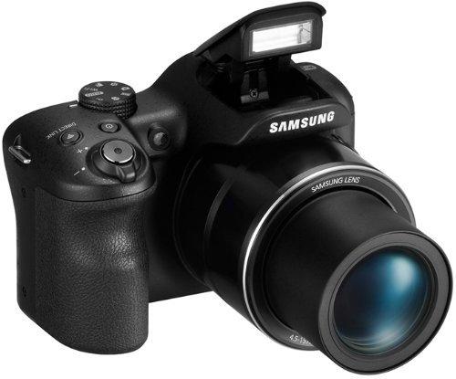 [Amazon-Prime] Samsung WB1100F Digitalkamera (16 Megapixel, 35-fach opt. Zoom, 7,6 cm (3 Zoll) Display) schwarz