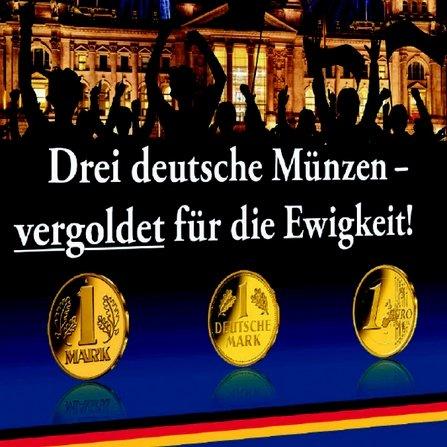 3 Goldmünzen gratis bei derbanker.com