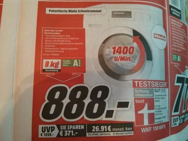 Waschmaschine Miele WKF 110 WPS, Mediamarkt Schwerin, Idealo ab 1145