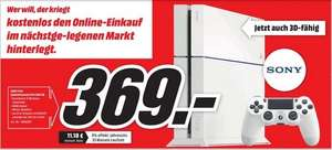 [lokal Oldenburg] Playstation 4 (PS4) Weiß @mediamarkt 295€