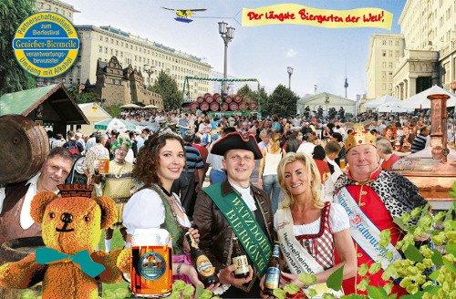 19. Internationales Berliner Bierfestival 2015 - 7. bis 9. 8. 2015 v. 10-  24 Uhr, Eintritt frei