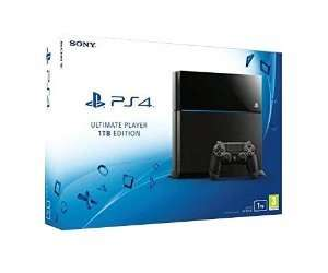PlayStation 4 - Konsole Ultimate Player 1TB Edition für 319,20€