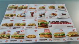 14 Burger King Dauerrabatte