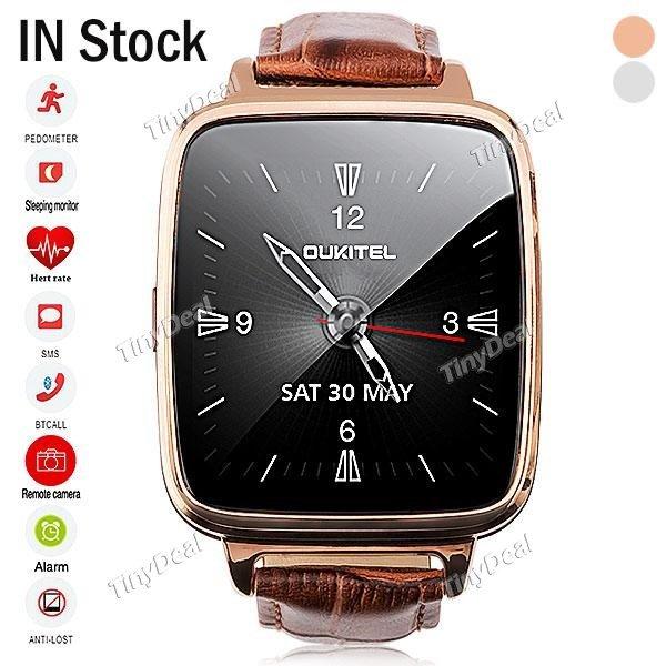 [Tinydeal.com] Oukitel A28 Smartwatch für Android/iOS nur 36,65 €
