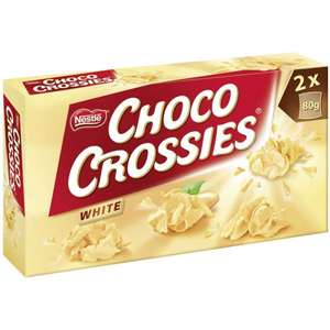 [MAINTAL] Globus: Choco Crossies White 160g für 0,90€