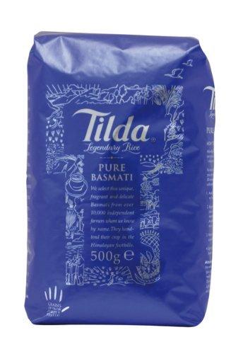 [Amazon-Marktplatz] TILDA PURE BASMATI Basmatireis, 8er Pack (8 x 500 g Packung)  wieder da