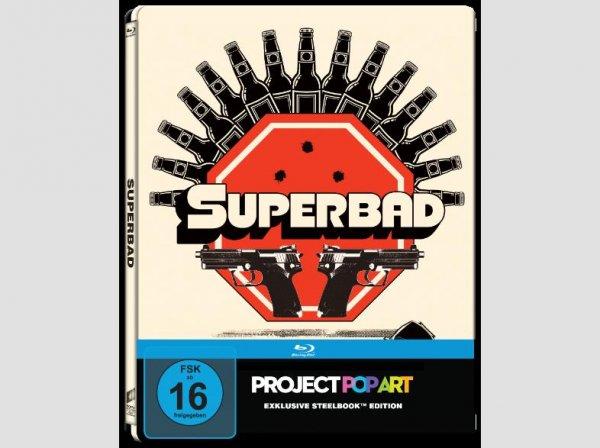 Superbad Exklusiv Pop Art Steelbook bei Saturn.de
