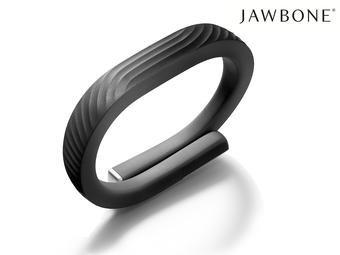 Jawbone UP24 Aktivitätstracker in schwarz/onyx in Größen S/M/L für € 55.90 bei Ibood