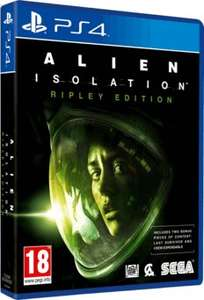 [Amazon Italien /  PS4] Alien Isolation Ripley Edition, God of War III Remastered, Witcher 3 Day One Edition und weitere