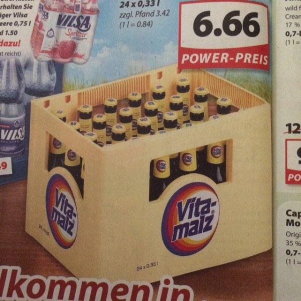 [famila Nordwest] Kiste Vitamalz 24x0,33l