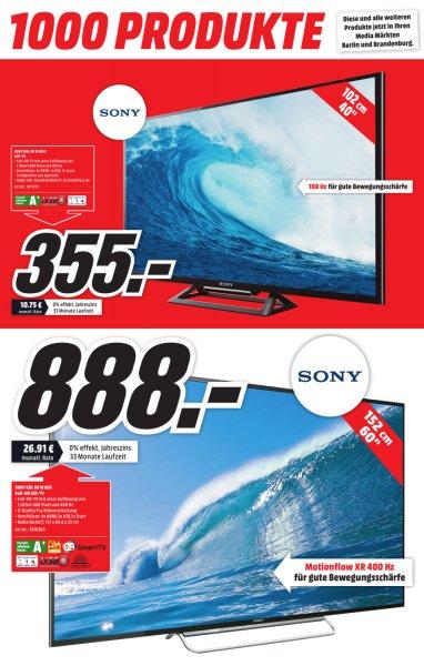 [LOKAL-Berlin] Sony Bravia KDL60-W605 [60 Zoll, FullHD, 400Hz]