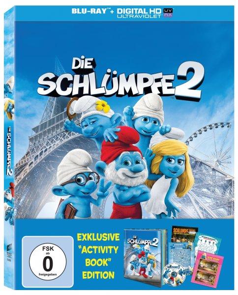 """Die Schlümpfe 2 - Exklusive """"Activity Book"""" Edition (Blu-ray) @ müller"""