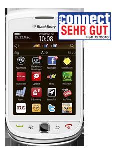 Preisfehler BlackBerry Torch 9800 Weiß nur 169€ statt 379€