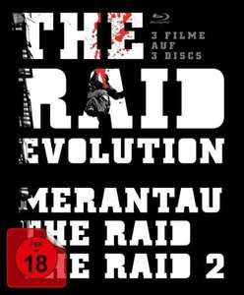 The Raid - Evolution: The Raid 1 & 2 & Merantau [Blu-ray] inkl. Vsk für 18,70€ > [Buch.de] > Vorbestellung