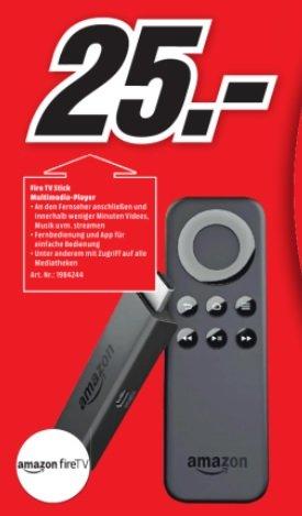 [Media Markt - Hildesheim] (Lokal?) -  Fire TV Stick für 25€